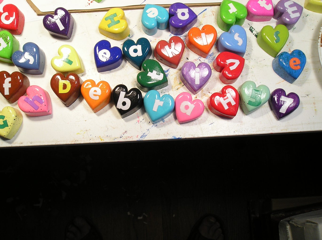 Painting the Hearts