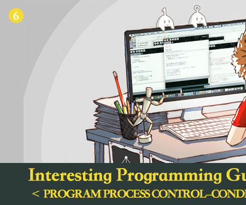 Interesting Programming Guidance for Designer--Program Process Control--Condition Statement (Part One)