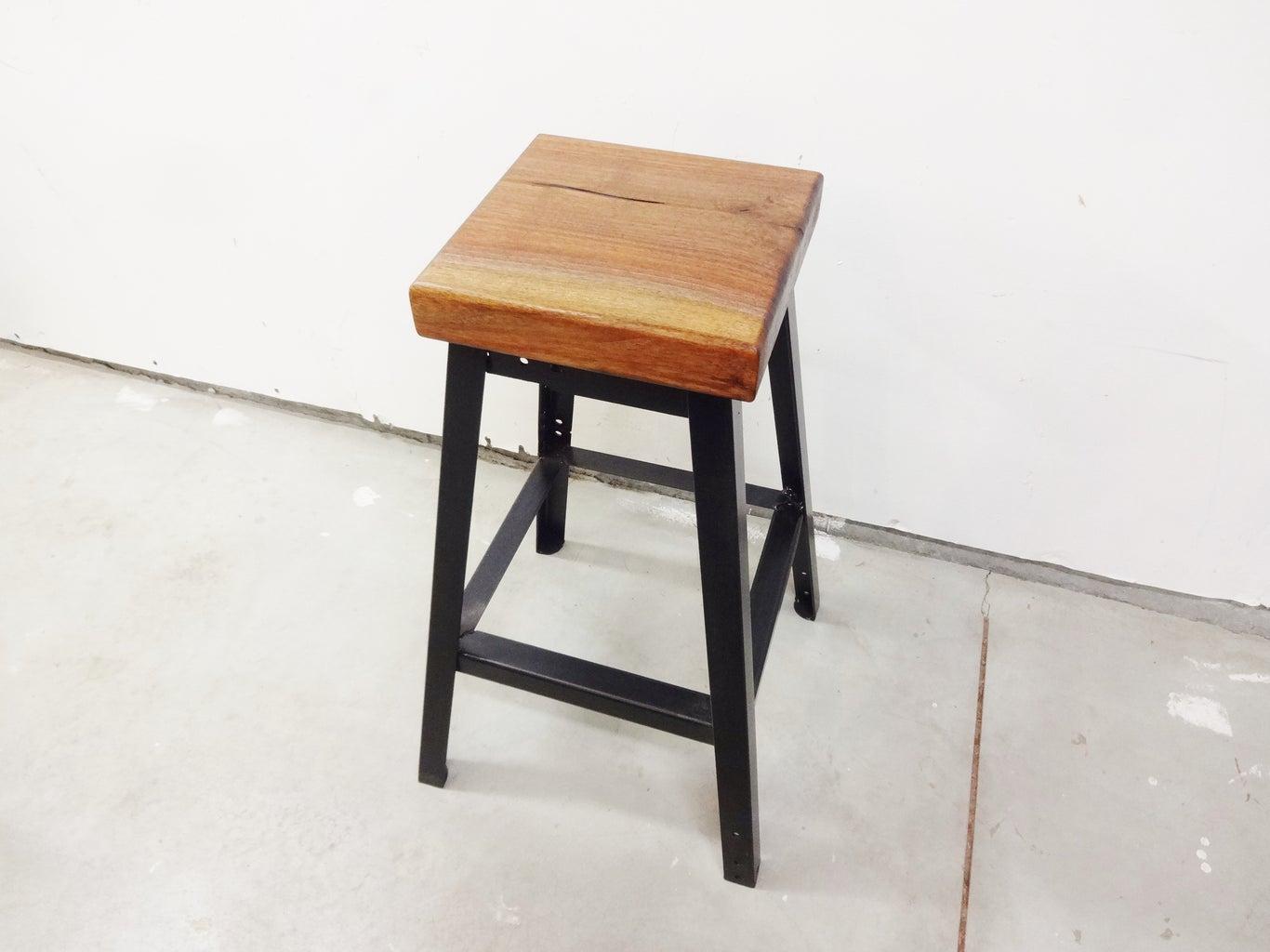 Fasten Wooden Seat