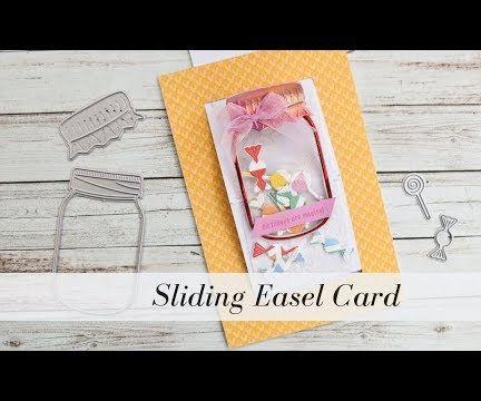 Sliding Easel Card