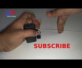 TRIPWIRE ALARM USING OLD MOUSE