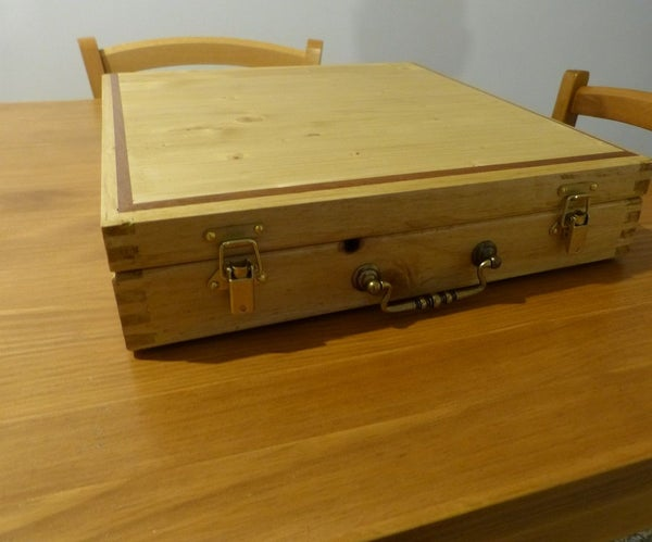A Suitcase Toolbox Out of Scrapwood