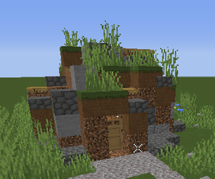 How to make a good dirt hut in Minecraft
