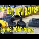 How to Revive Dead Power Tool Batteries