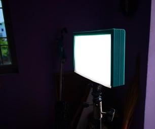 Light Diffuser for Video LED Lights