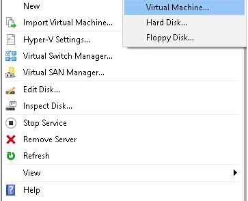 Creating a Virtual Machine