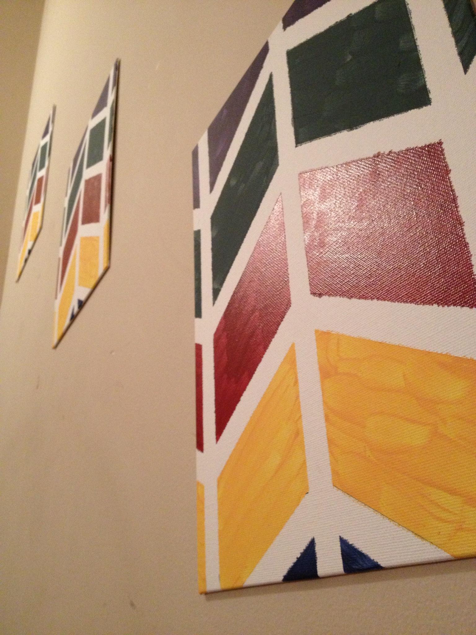 Chevron Paintings
