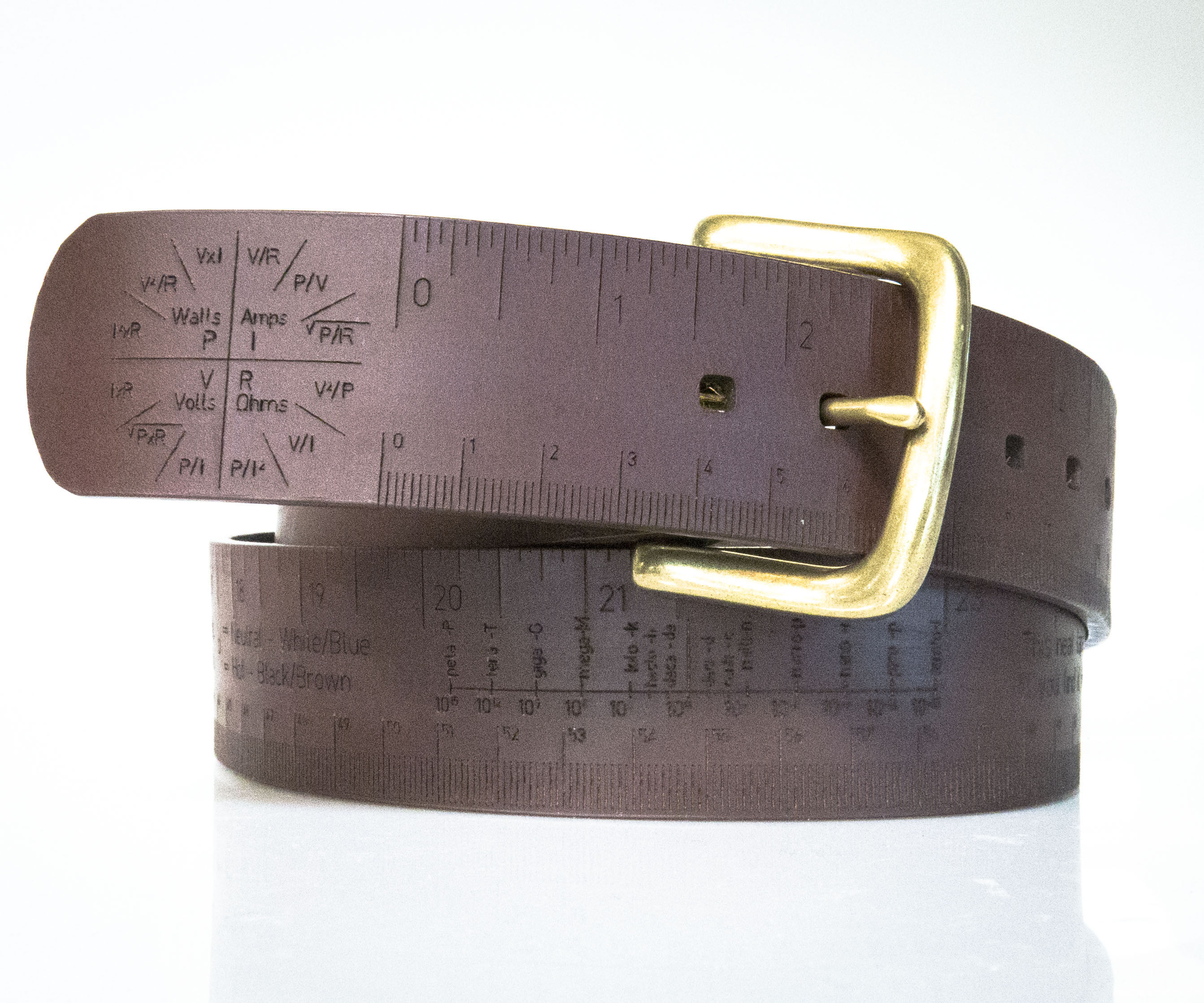 Measuring Tape/Belt — A pocket reference for your waist