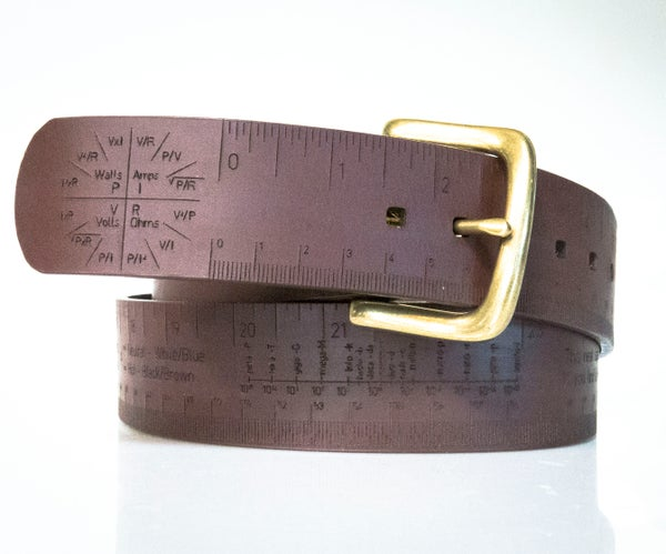 Measuring Tape/Belt — a Pocket Reference for Your Waist