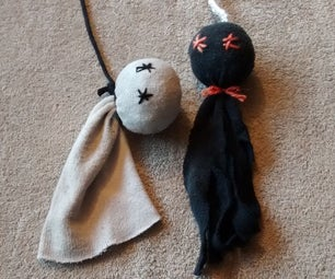 Free DIY Haunted Cat Toy Decoration That Will Drive Your Cat Crazy!