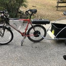 New Life for an Old Ebike - New Battery, Ignition, Lights, Charging Port, and a Trailer!!!