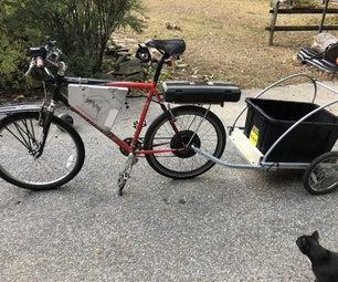 新的ebike新生活 - 新电池,点火,灯,充电端口和拖车!