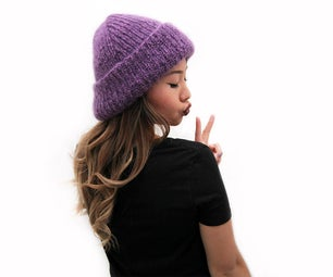 How to Knit a Fuzzy Winter Hat