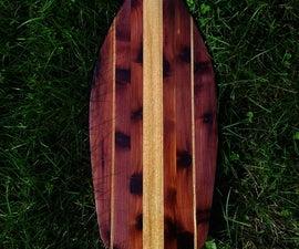 CNC Canoe Paddles