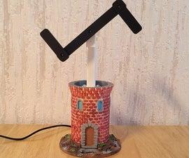 3D Printed Optical Telegraph Model