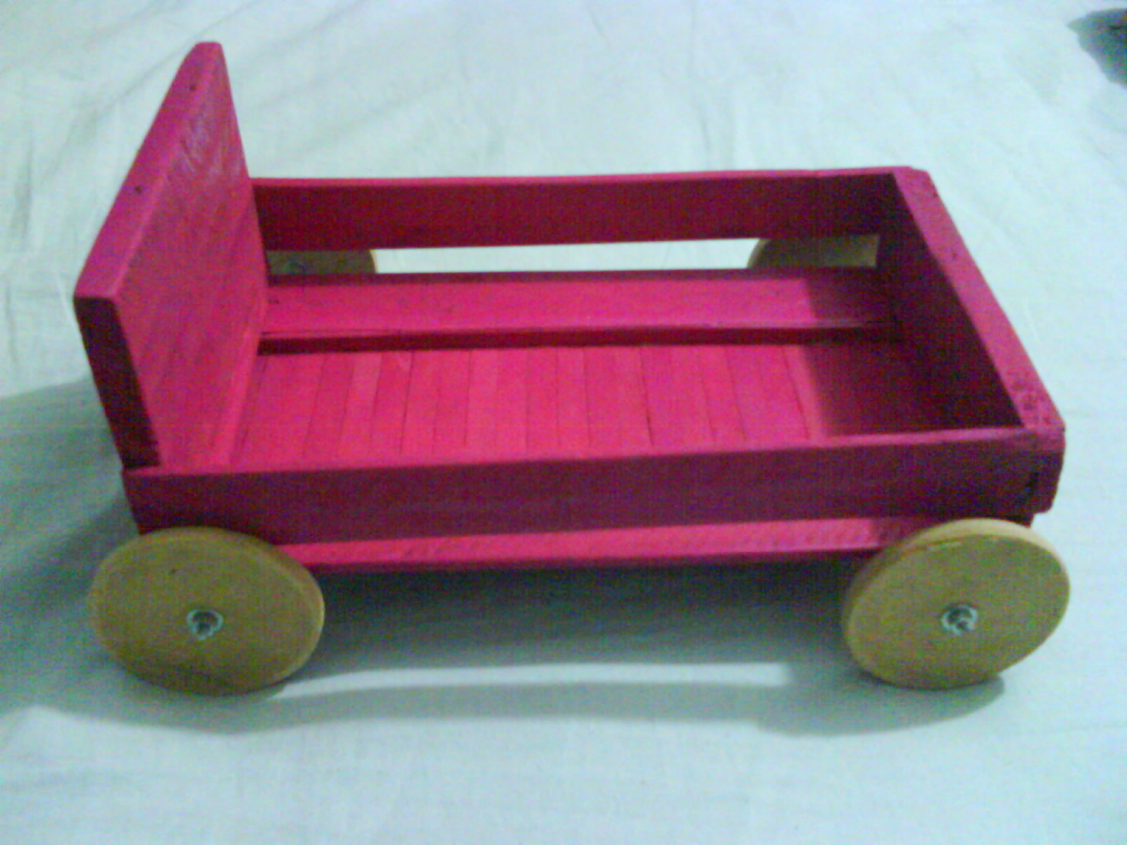 Trolley with fruit box