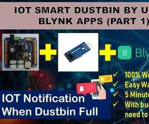 How to Make IOT Smart Dustbin by Using MA-01 IOT Magic Kit and IR Sensor