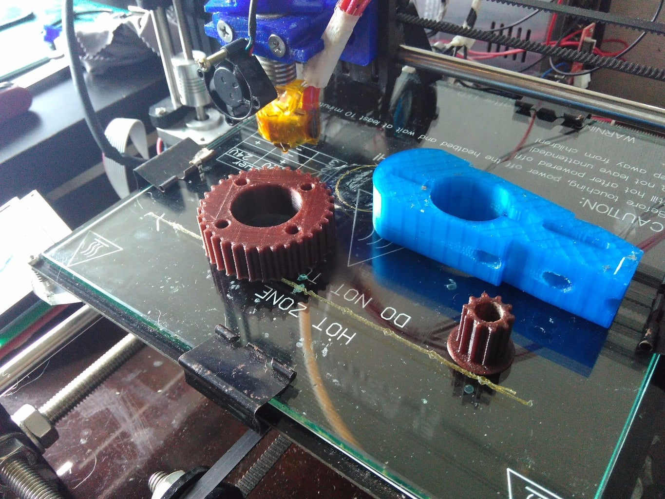 3D Printed Power Delivery System