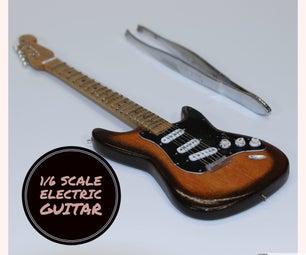 Make a Scale Electric Guitar