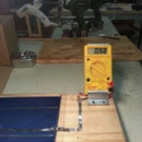 Solar Cell Voltage Testing Station