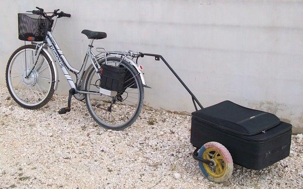 Regular to Electric Bike Conversion