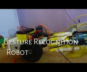 Hand Gesture Controled Robot