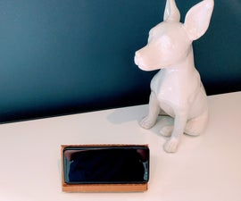 Phone Stand + Device Storage