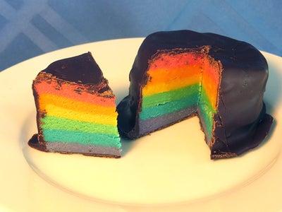 Rainbow Cake Idea