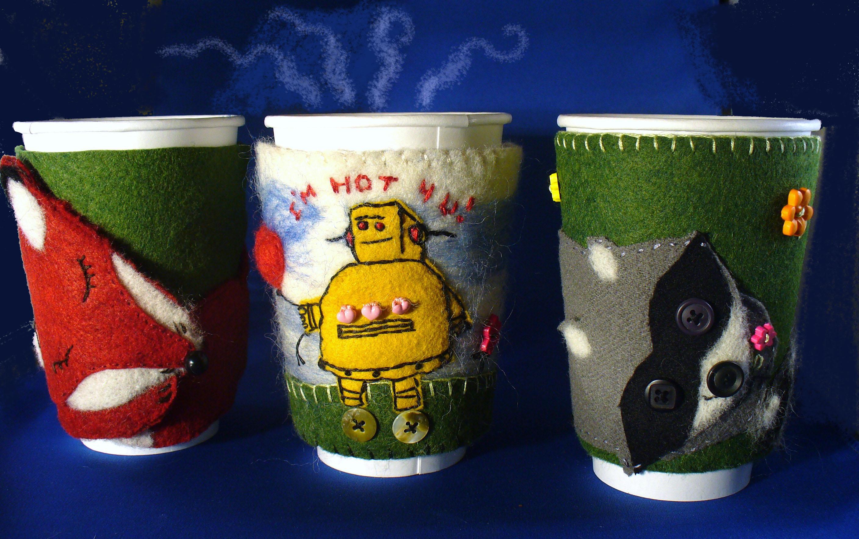 Cute Coffee Cup Cozies