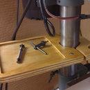A Simple Drill Press Tray