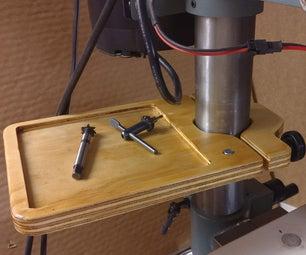 一个简单的钻头压盘