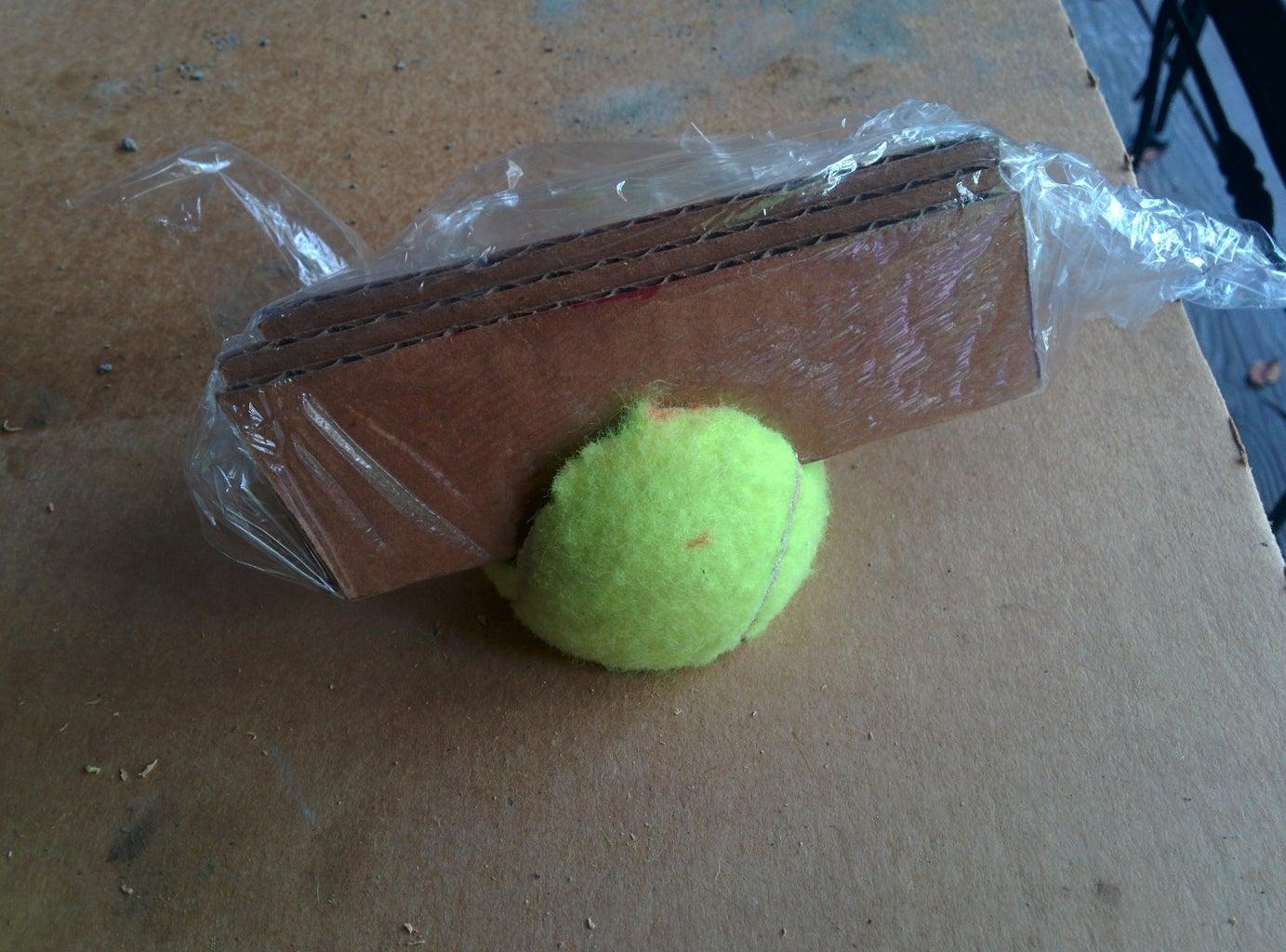 Cut Up Your Tennis Ball