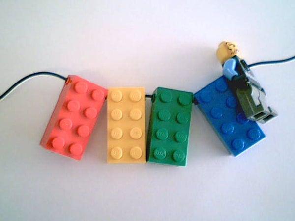 Quick Lego Necklace/Bracelet/Keychain