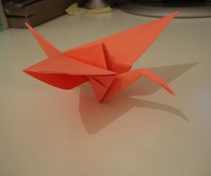 Flapping Origami Crane