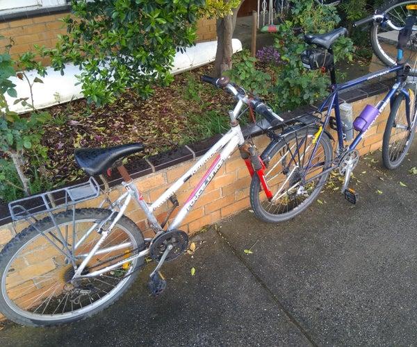 Bicycle Tow-bike