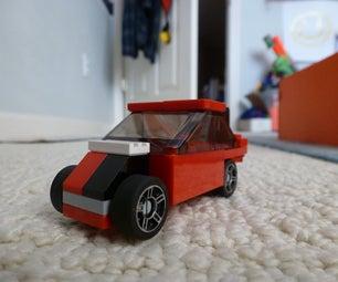 How to Make a Lego Passenger Car