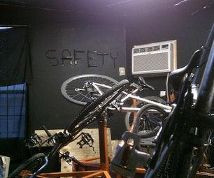 Bike Lock Safety Sculpture
