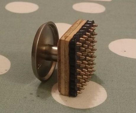 Perler stamp for tape method