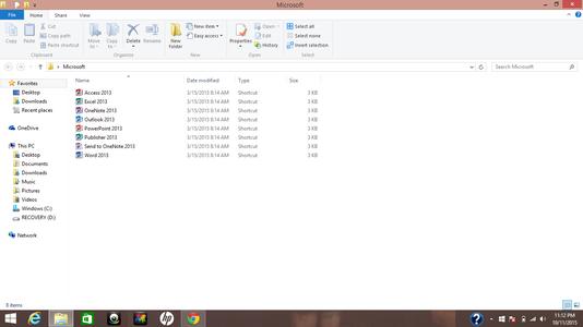 Finding Microsoft Folder