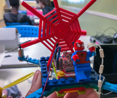 MLab   LEGO SPIDER-DRONE INSPIRED BY INTO THE SPIDER-VERSE