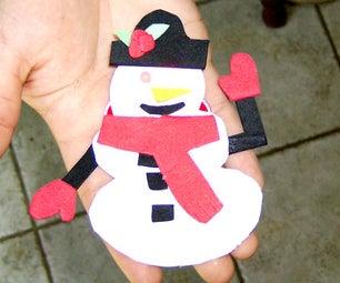 Make a Light-Up Holiday Ornament