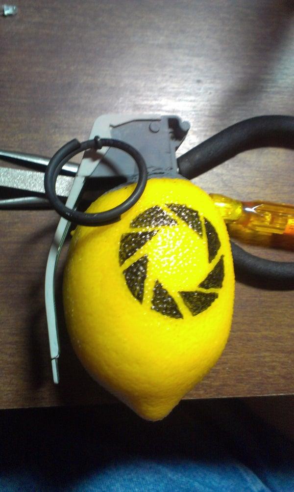 Cheap Portal 2 Lemon Grenade