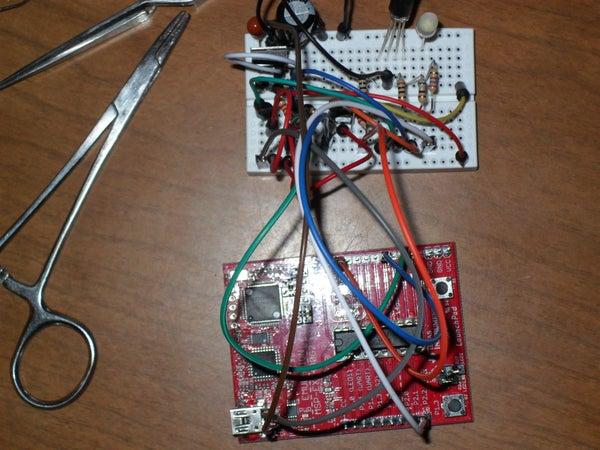 TI MSP430G2 Christmas Light Thingie