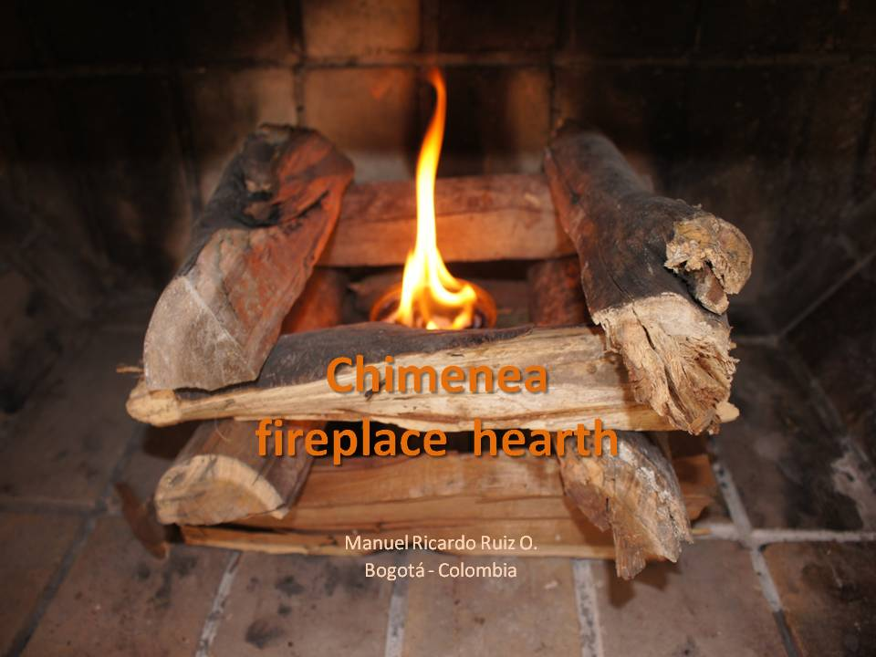 Fake fireplace with real flames