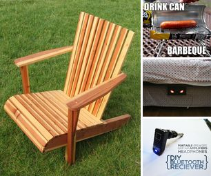 [newsletter] One Board Chair, Drink Can BBQ, Under the Bed Monster