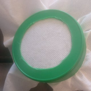 Take-away Container Embroidery Hoop