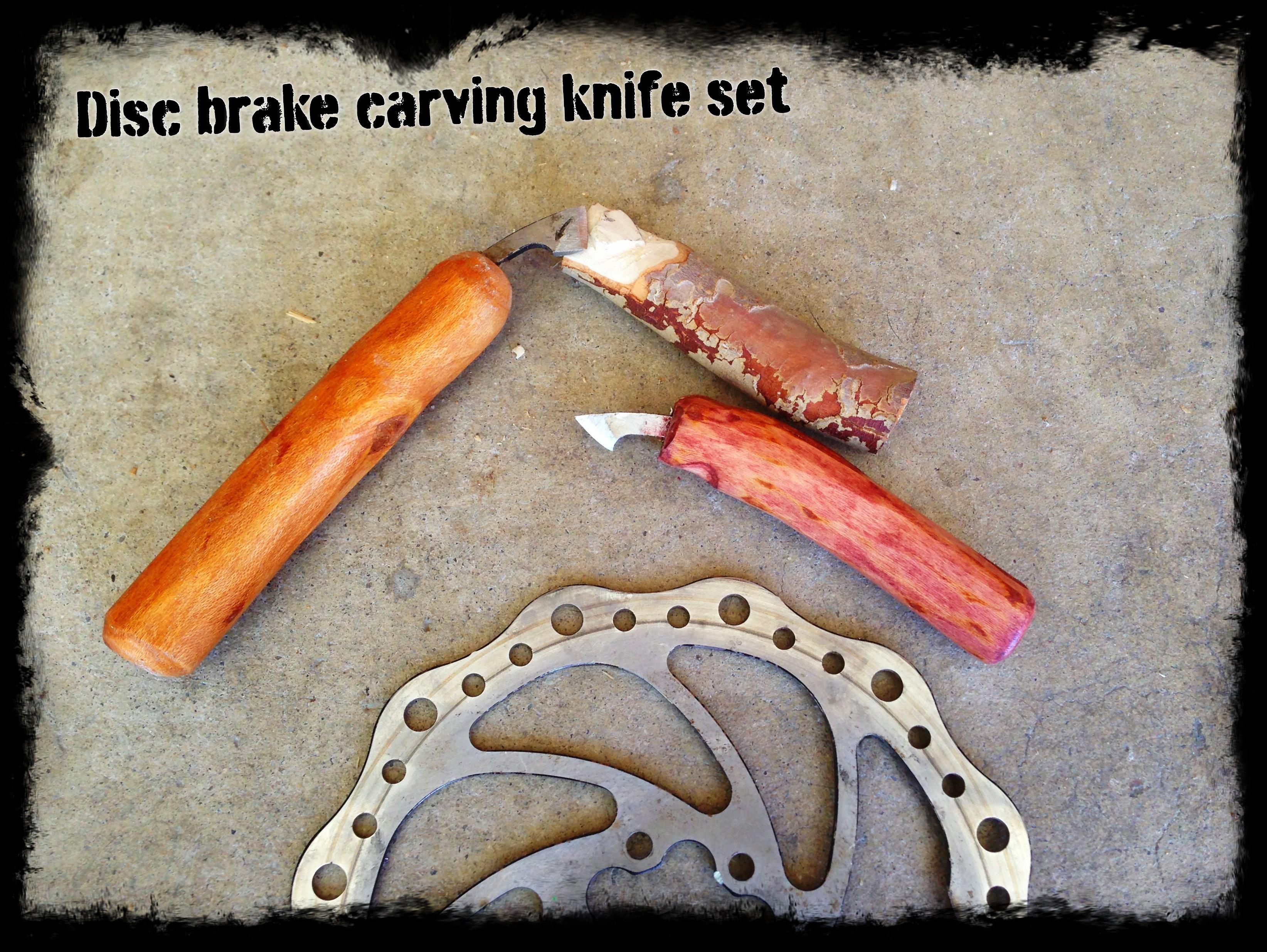 Build A Bike Disk Brake Carving Knife Set