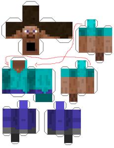Minecraft Cutouts