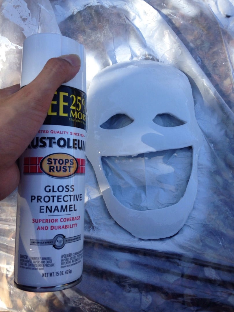 Step: 4 - Spraying Layers of Paint