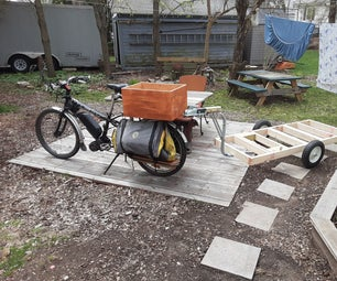 Heavy Duty Bike Trailer